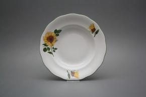 Tiefer Teller 23cm Alaska Sonnenblumen CZL