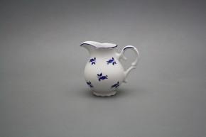 Kaffee Milchkännchen 0,15l Ofelie Blaue Rosen ML