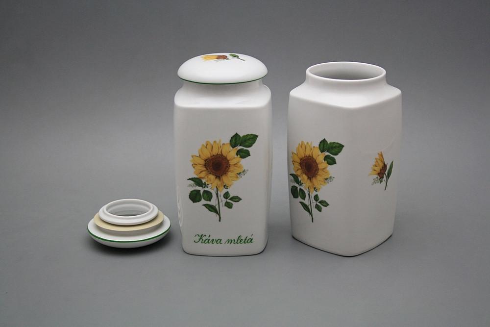 Lebensmitteldose 1,2l Nela Sonnenblumen ZL | Sonnenblumen Dekor ...