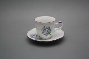 Tasse 0,135l und Untertasse Ofelie Lavendel FL