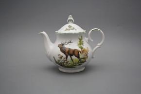 Teekanne 0,5l Ofelie Röhrender Hirsch ZL