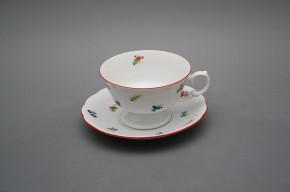 Teetasse 0,2l und Untertasse Alaska Streuer CL