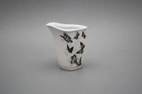 Milchkännchen 0,2l Eureka Schwarze Schmetterlinge BB