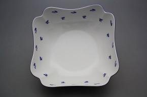 Quadratische Salatschüssel 24cm Rokoko Wiesenblumen AML