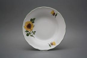Tiefer Teller 24,5cm Verona Sonnenblumen CZL