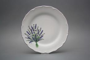 Flacher Teller 25cm Verona Lavendel HFL