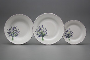 Tellerset Verona Lavendel 24teiliges HFL