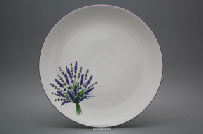 Runde flache Schüssel 30cm Coup Lavendel HFL
