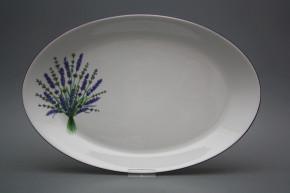 Oval 36cm Coup Lavendel HFL