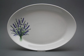 Oval 36cm Coup Lavendel HBB