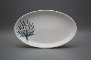 Oval 33cm Coup Lavendel HBB