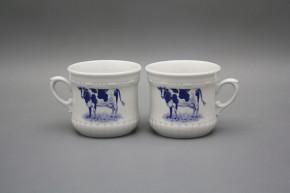 Perlen-Kaffeetasse klein 0,26l Kuh BB