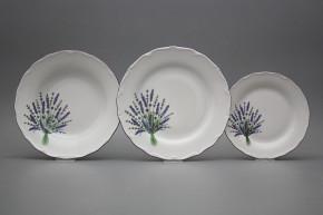 Tellerset Verona Lavendel 12teiliges HFL