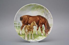 Hängeteller 19cm Pferde A