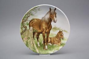 Hängeteller 19cm Pferde D