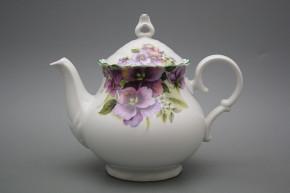 Teekanne 1,2l Ofelie Stiefmütterchen ZL