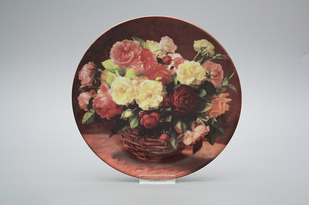 h ngeteller 19cm korb mit rosen d rimosa blumenmotive. Black Bedroom Furniture Sets. Home Design Ideas