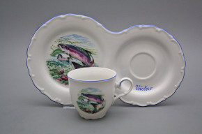 Kaffee Frühstücksset Ofelie mit Name Fischern AL