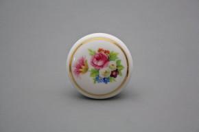 Porzellanknopfgriff 45mm Perle GL