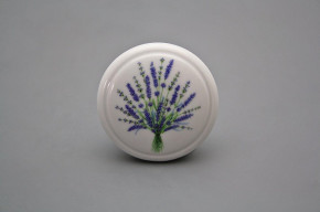 Porzellanknopfgriff 45mm Lavendel
