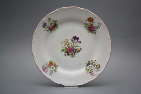 Flacher Teller 25cm Ofelie Meissen Bouquet GCL