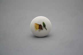 Porzellanknopfgriff 35mm Sonnenblumen