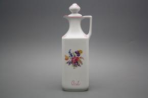 Karaffe kantig 0,7l Iris Bouquet RL