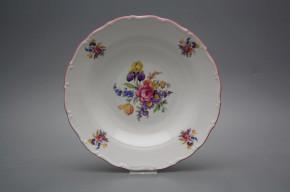 Tiefer Teller 23cm Ofelie Iris Bouquet GRL