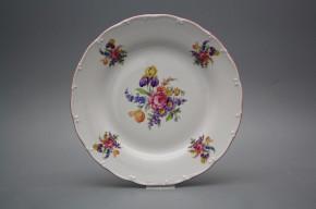 Flacher Teller 25cm Ofelie Iris Bouquet GRL