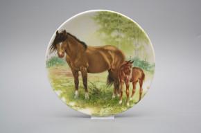 Hängeteller 19cm Pferde C