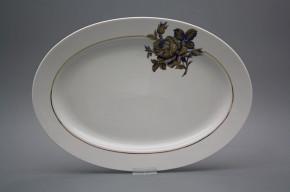 Oval 36cm Christine Kobaltblue Rose GL