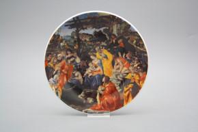 Hängeteller 19cm Adorazione dei Magi D - Filippino Lippi