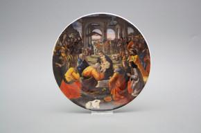 Hängeteller 19cm Adorazione dei Magi C - Filippino Lippi