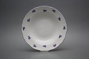 Tiefer Teller 23cm Ofelie Blaue Rosen AML
