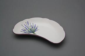 Knochenteller 19cm Rokoko Lavendel FL