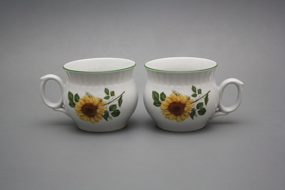 Tasse Darume 0,29l Sonnenblumen ZL | Sonnenblumen Dekor | Bohemia ...