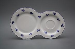 Frühstücksplatte 29cm Ofelie Blaue Rosen AML