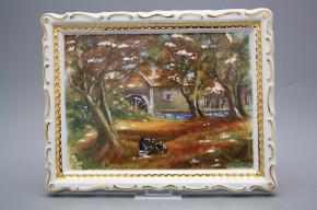 Porzellanbild Herbst