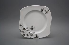 Dessertteller 25,5cm Eureka Schwarze Schmetterlinge BB