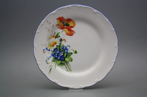Flacher Teller 25cm Ofelie Feldblumen HAL
