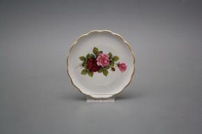 Glasuntersetzer 10cm Rokoko Rose Elizabeth GL