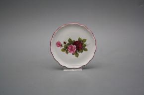 Glasuntersetzer 10cm Rokoko Rose Elizabeth RL