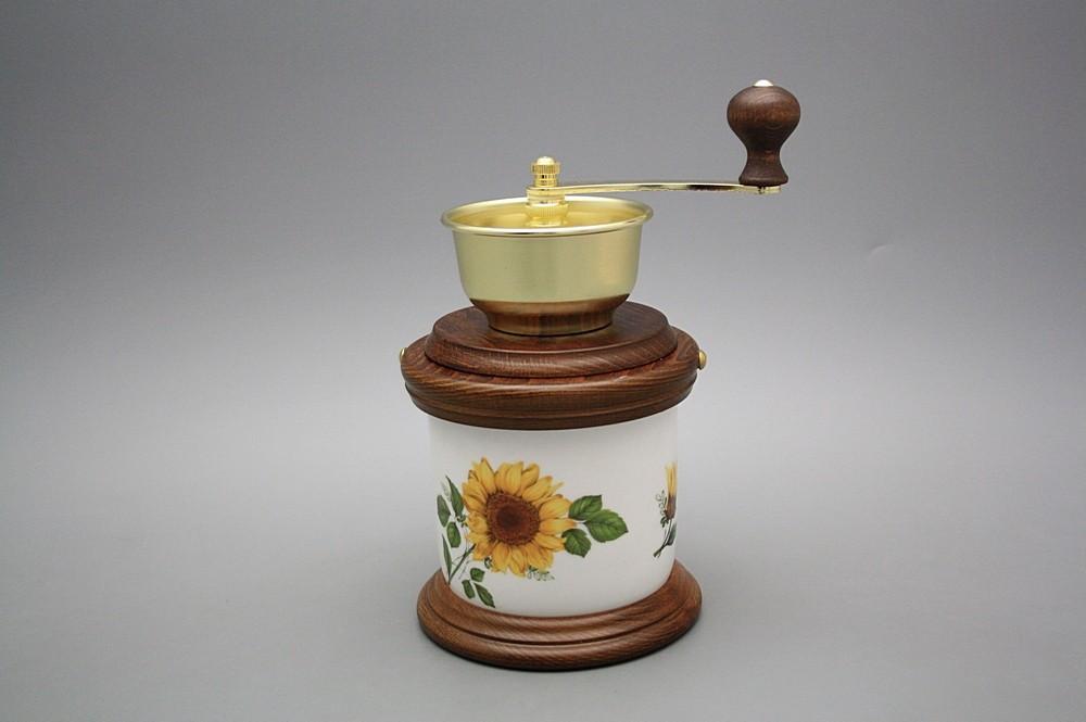 Kaffeemühle Kochtopf Sonnenblumen BB | Sonnenblumen Dekor | Bohemia ...