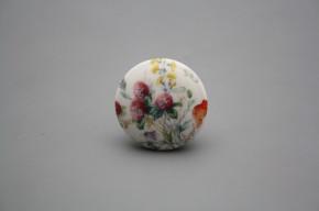 Porzellanknopfgriff 35mm Blumenwiese A