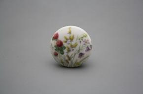 Porzellanknopfgriff 35mm Blumenwiese C