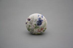 Porzellanknopfgriff 35mm Blumenwiese D
