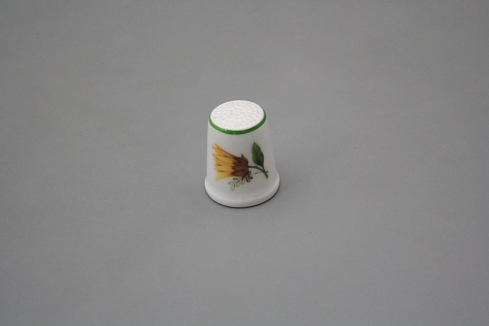 Fingerhut 2,5cm Sonnenblumen ZL | Sonnenblumen Dekor | Bohemia ...