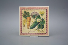 Fliese 15x15cm Vegetables BEIGE