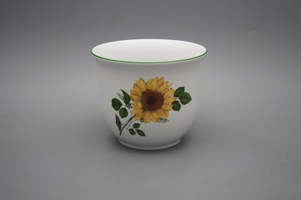 Blumentopf 16cm Sonnenblumen ZL | Sonnenblumen Dekor | Bohemia ...