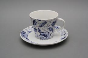 Tasse hoch 0,2l und Untertasse Tom Blue Persia BB